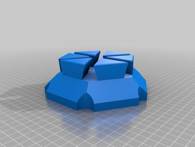 梁规旋转装置 3D模型  图6