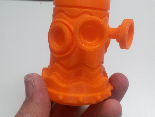 迷你机器人玩偶 3D模型  图5