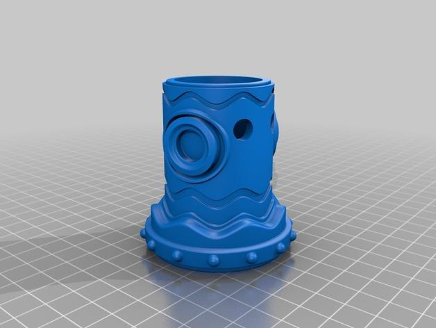 迷你机器人玩偶 3D模型  图7