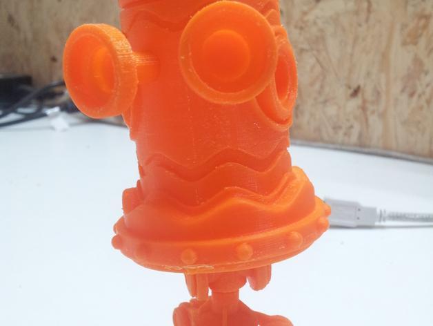 迷你机器人玩偶 3D模型  图6