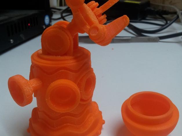 迷你机器人玩偶 3D模型  图11