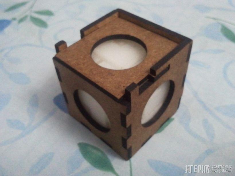 立方体拼图模型 3D模型  图5