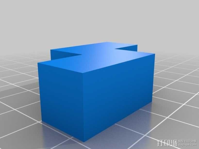 立方体拼图模型 3D模型  图4
