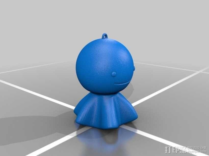 迷你晴天娃娃 3D模型  图2