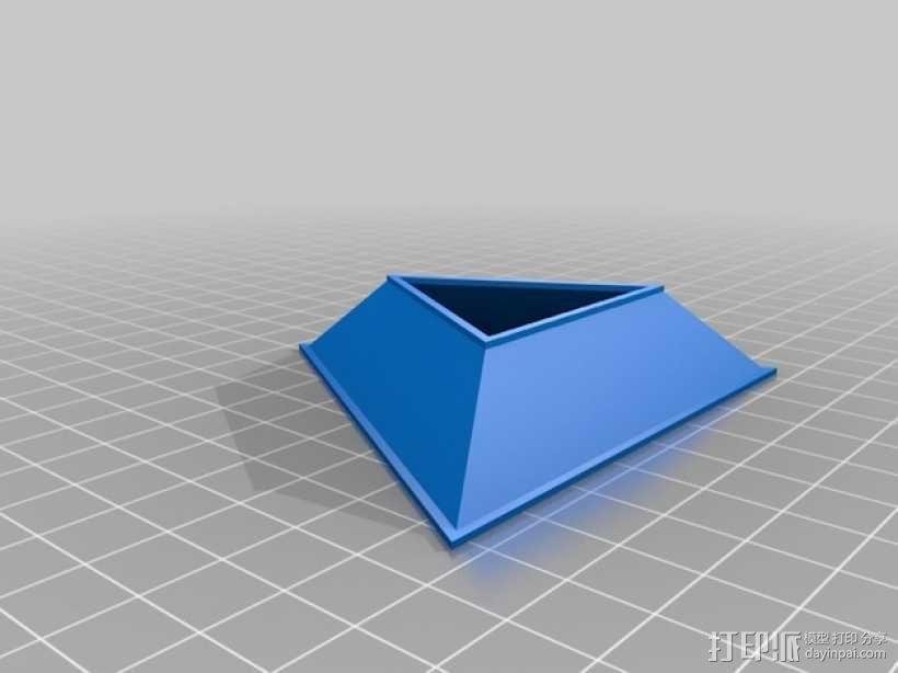 Rubik魔方三角座架 3D模型  图2