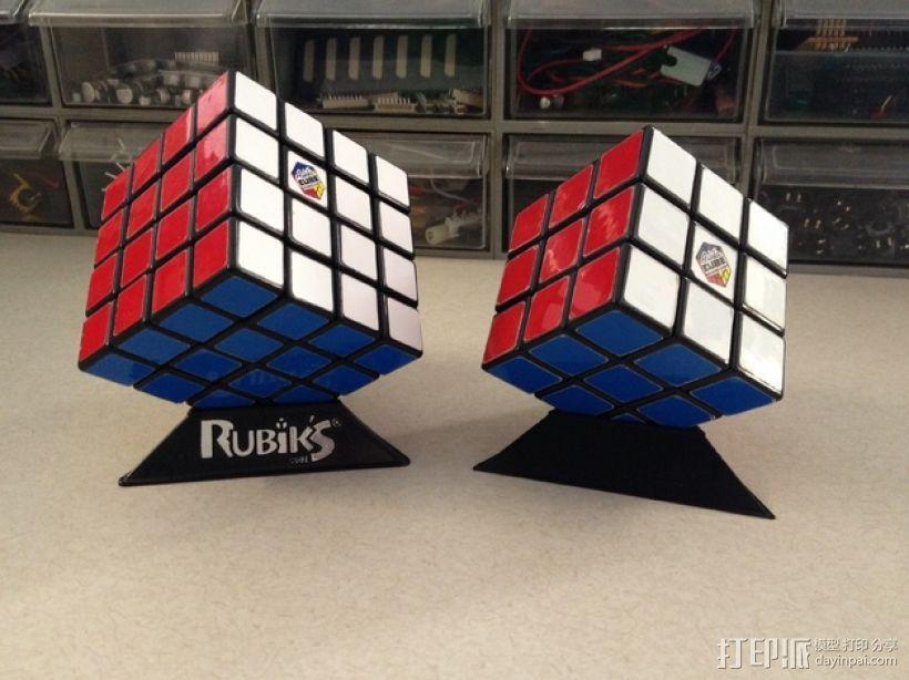 Rubik魔方三角座架 3D模型  图3