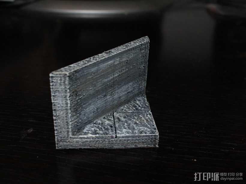 OpenForge平滑斜瓦 3D模型  图2
