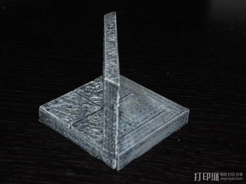 OpenForge平滑斜瓦 3D模型  图3