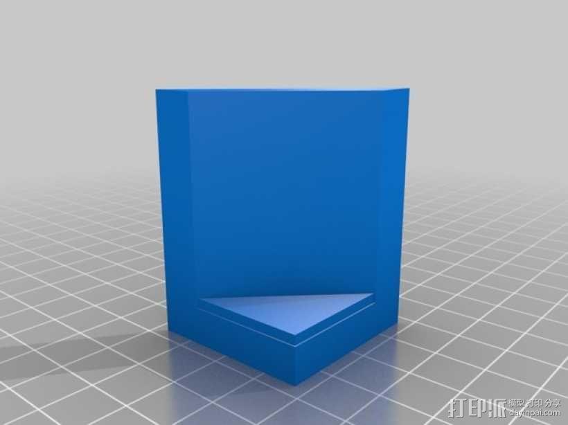 OpenForge平滑斜瓦 3D模型  图4