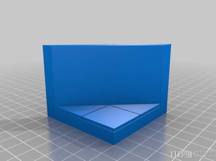 OpenForge平滑斜瓦 3D模型  图6