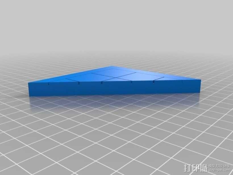 OpenForge平滑斜瓦 3D模型  图9