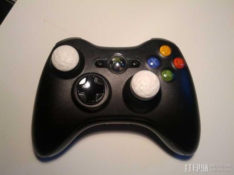Xbox 360控制器操纵杆延伸装置 3D模型  图3