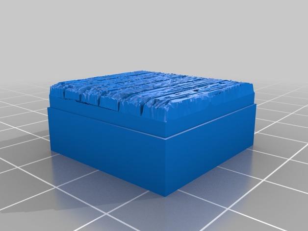 OpenForge木质瓦片 3D模型  图4