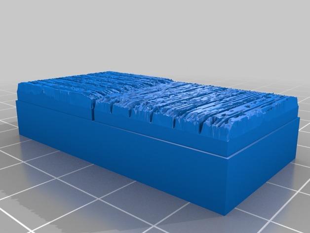 OpenForge木质瓦片 3D模型  图5