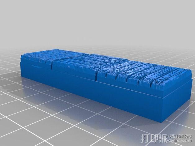 OpenForge木质瓦片 3D模型  图6
