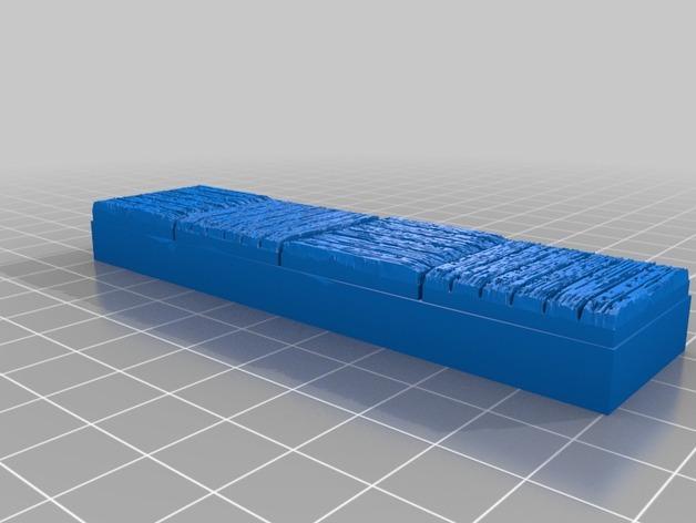OpenForge木质瓦片 3D模型  图7