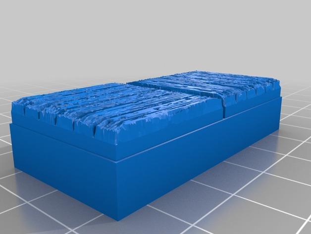 OpenForge木质瓦片 3D模型  图8