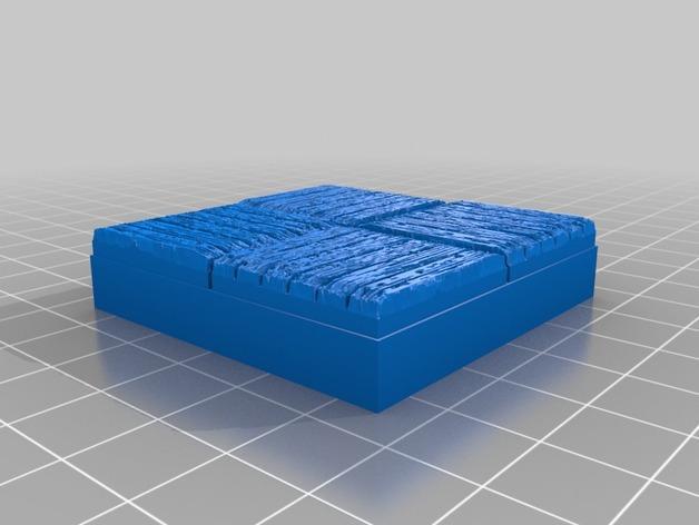 OpenForge木质瓦片 3D模型  图9