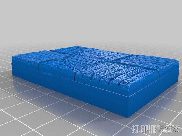 OpenForge木质瓦片 3D模型  图10