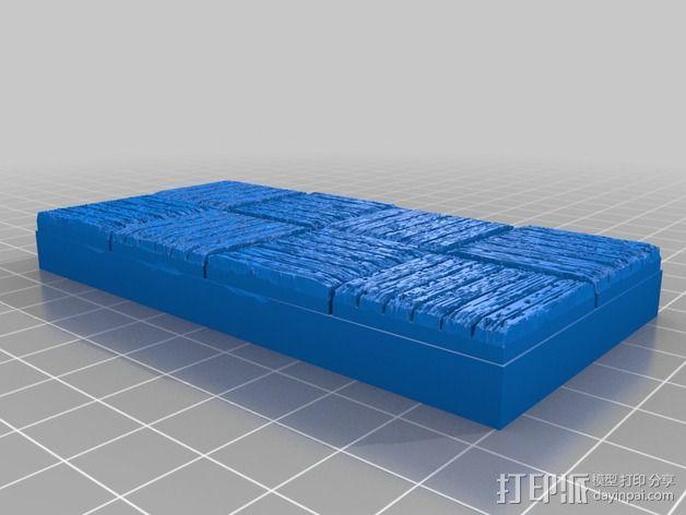 OpenForge木质瓦片 3D模型  图11