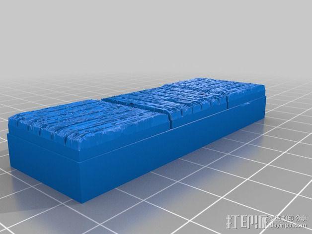 OpenForge木质瓦片 3D模型  图12