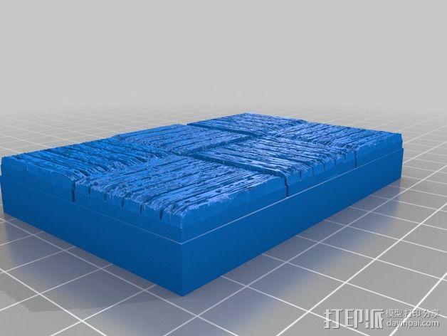 OpenForge木质瓦片 3D模型  图13