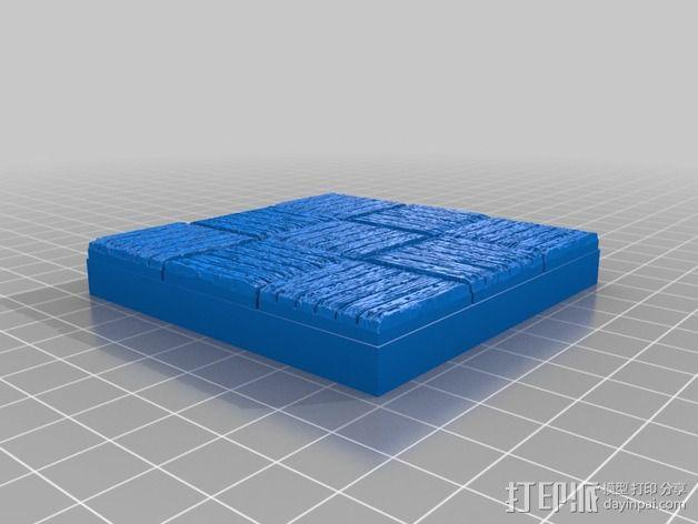 OpenForge木质瓦片 3D模型  图14
