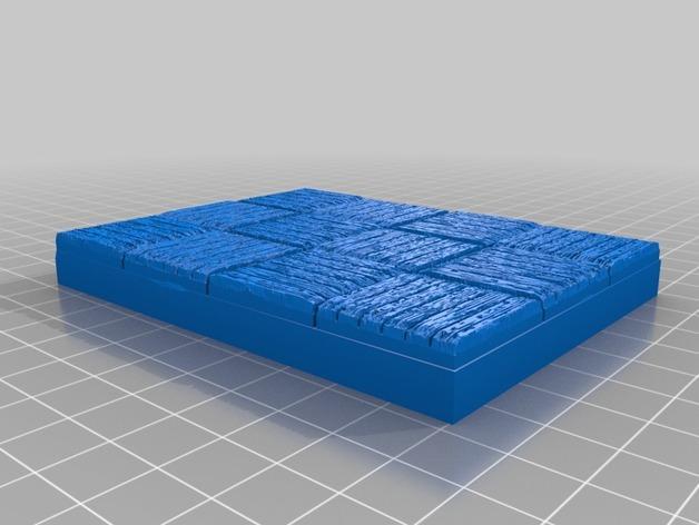 OpenForge木质瓦片 3D模型  图15