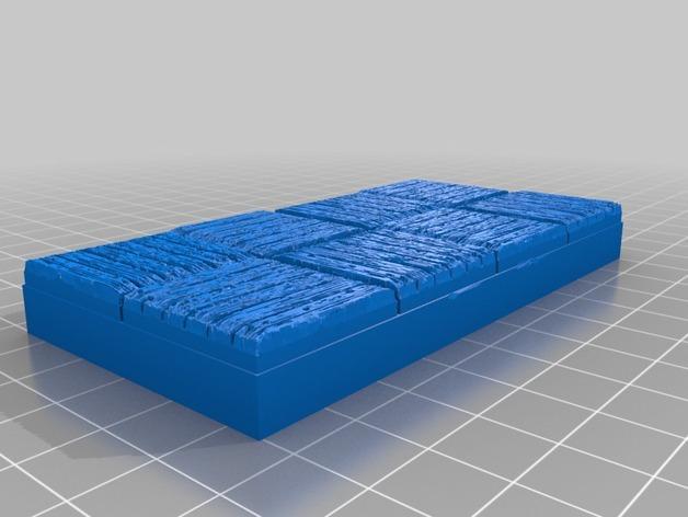 OpenForge木质瓦片 3D模型  图17