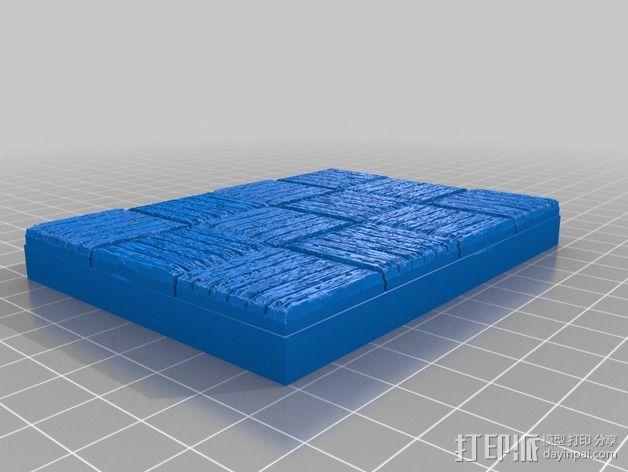 OpenForge木质瓦片 3D模型  图18