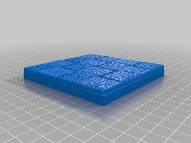 OpenForge木质瓦片 3D模型  图19