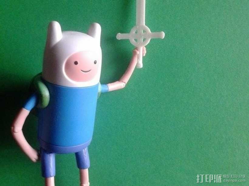 恶魔之剑Finn 3D模型  图3