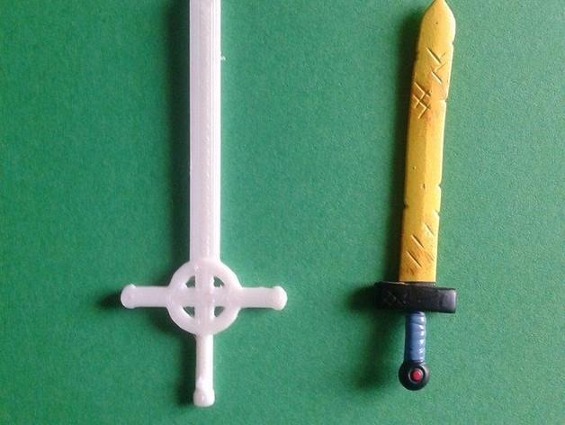恶魔之剑Finn 3D模型  图1