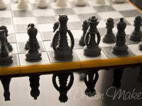 国际象棋棋具 3D模型