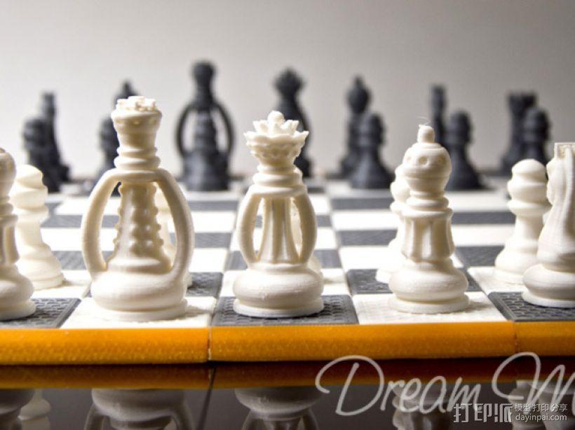 国际象棋棋具 3D模型  图6