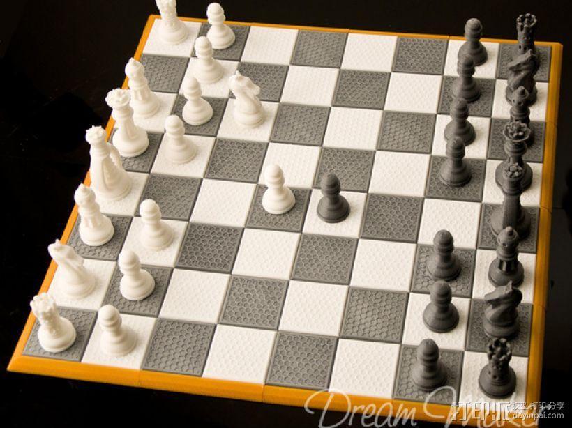 国际象棋棋具 3D模型  图7