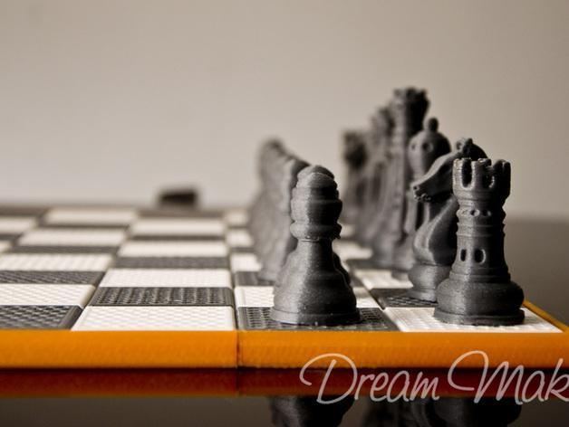 国际象棋棋具 3D模型  图5