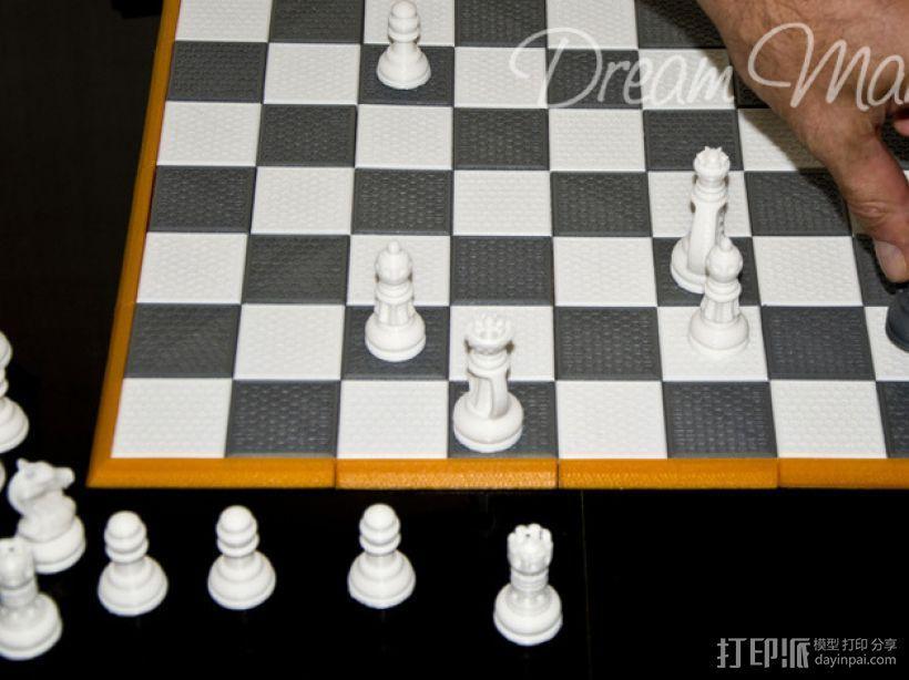 国际象棋棋具 3D模型  图8