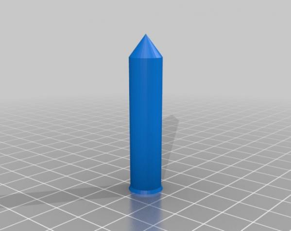 可伸展的圆柱体 3D模型  图2