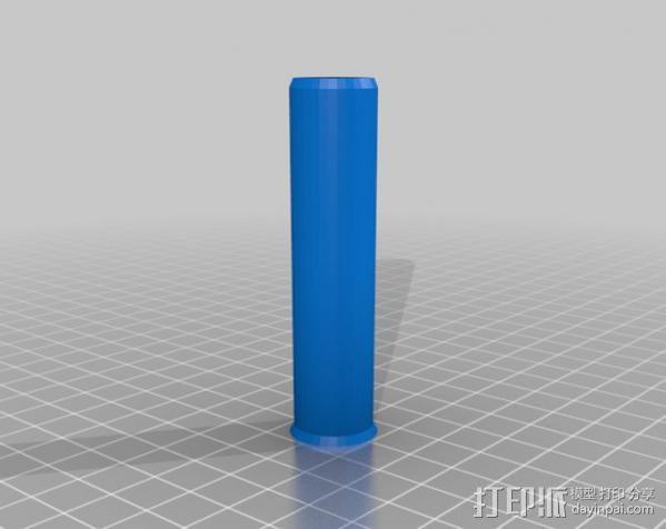 可伸展的圆柱体 3D模型  图4