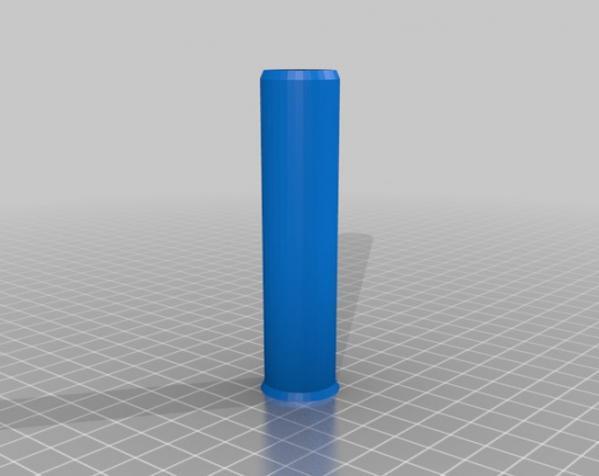 可伸展的圆柱体 3D模型  图3