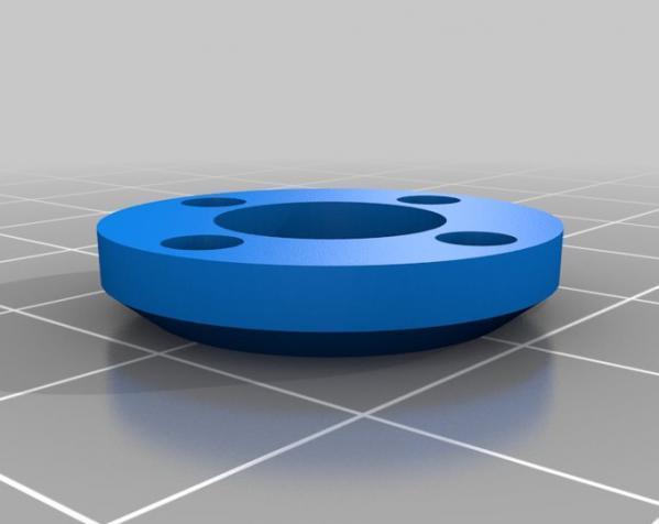 带叶片的旋转陀螺 3D模型  图4
