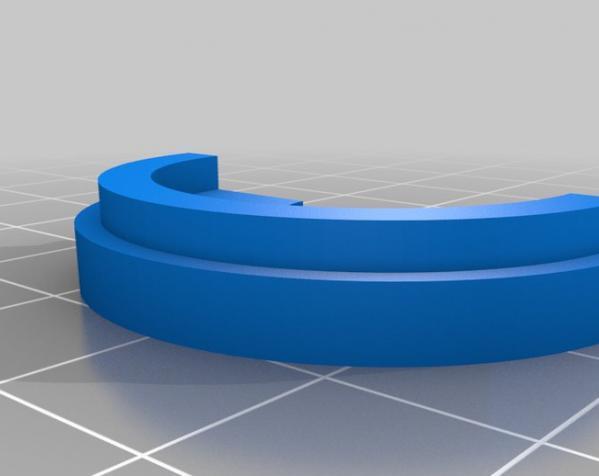 带叶片的旋转陀螺 3D模型  图7
