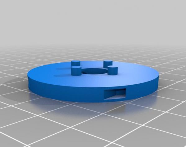 带叶片的旋转陀螺 3D模型  图6