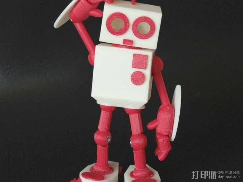 MAGG机器人玩偶 3D模型  图1