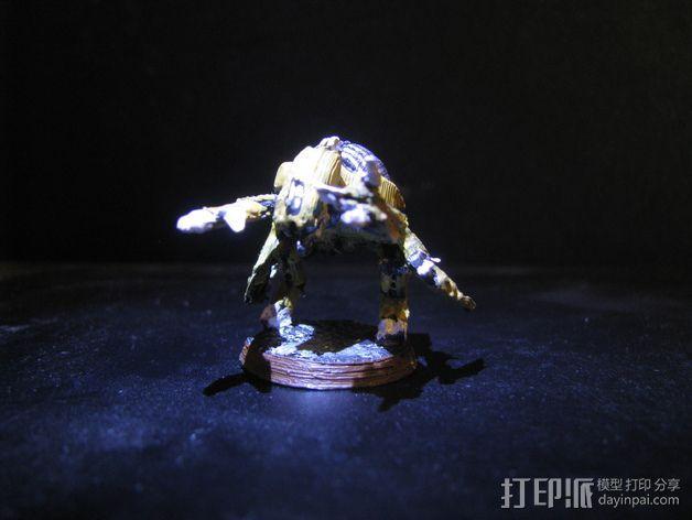 泰伦虫族基因盗取者 3D模型  图4