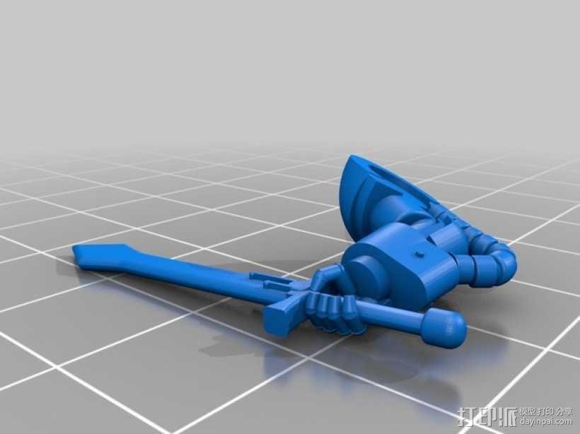 暗黑使者军团模型 3D模型  图25