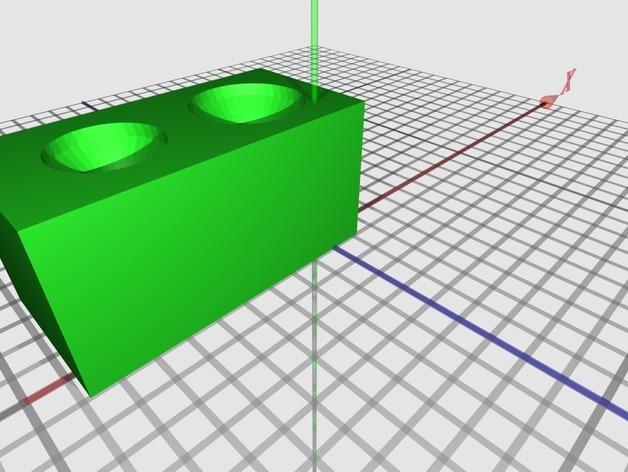 盲袋小马玩具套件 3D模型  图1