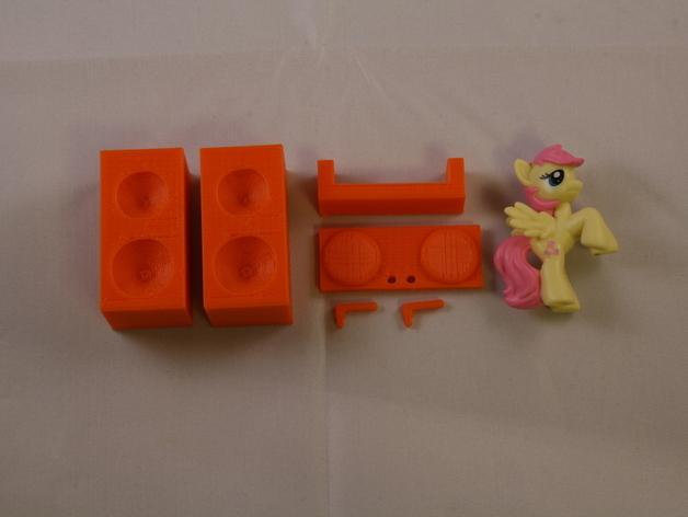 盲袋小马玩具套件 3D模型  图7