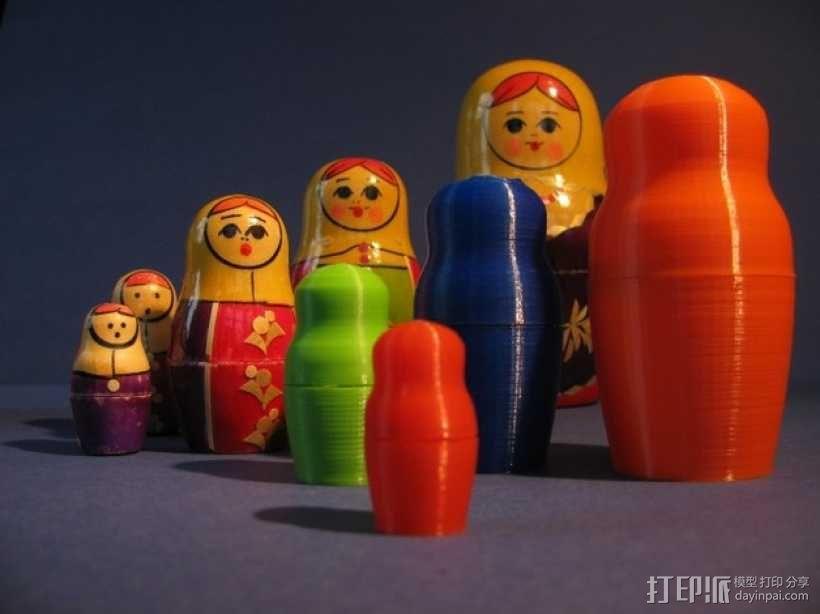 俄罗斯套娃模型 3D模型  图8